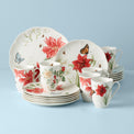 Butterfly Meadow® 18-piece Holiday Dinnerware Set