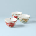 Butterfly Meadow® 6-piece Holiday Rice Bowl Set