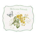 Butterfly Meadow Welcome Friends Trivet