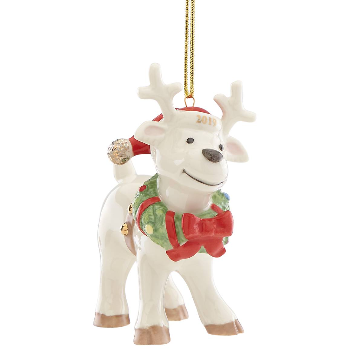 Image of 2019 Ralph The Reindeer Ornament by Lenox