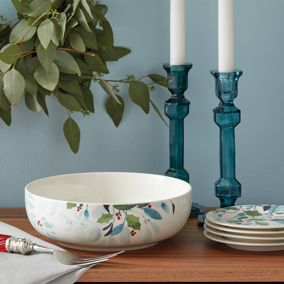 Lenox 887079 Frosted Pines Serving Bowl