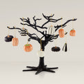 Mini Pumpkin 10-piece Ornament & Tree Set