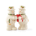 Happy Holly Days Snowman Salt & Pepper
