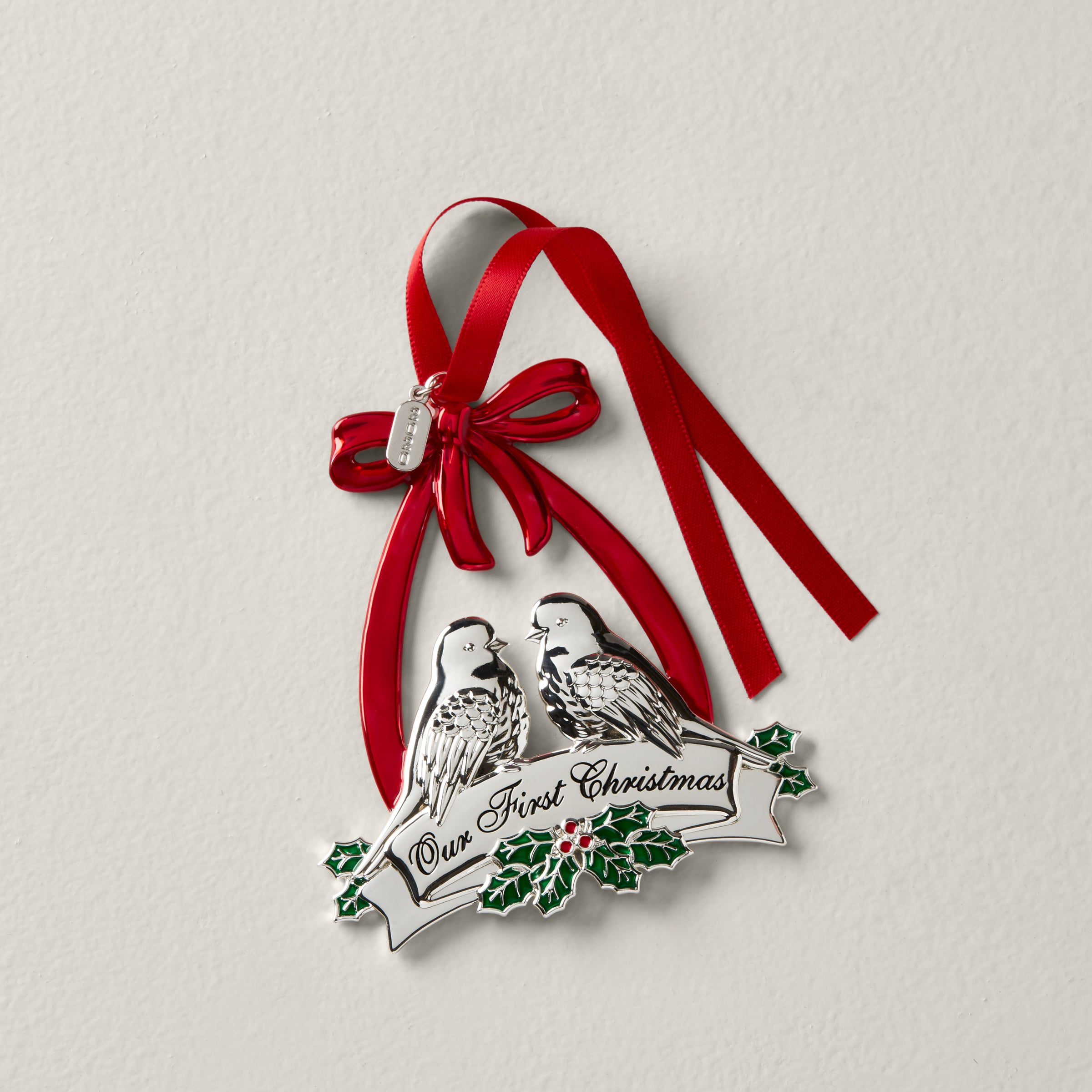 Our First Christmas Picture Ornament 2020 2020 Our First Christmas Dove Ornament – Lenox Corporation