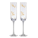 Opal Innocence Flourish 2-Piece Toasting Flute Set