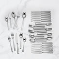 Amber Hill 65-Piece Flatware Set