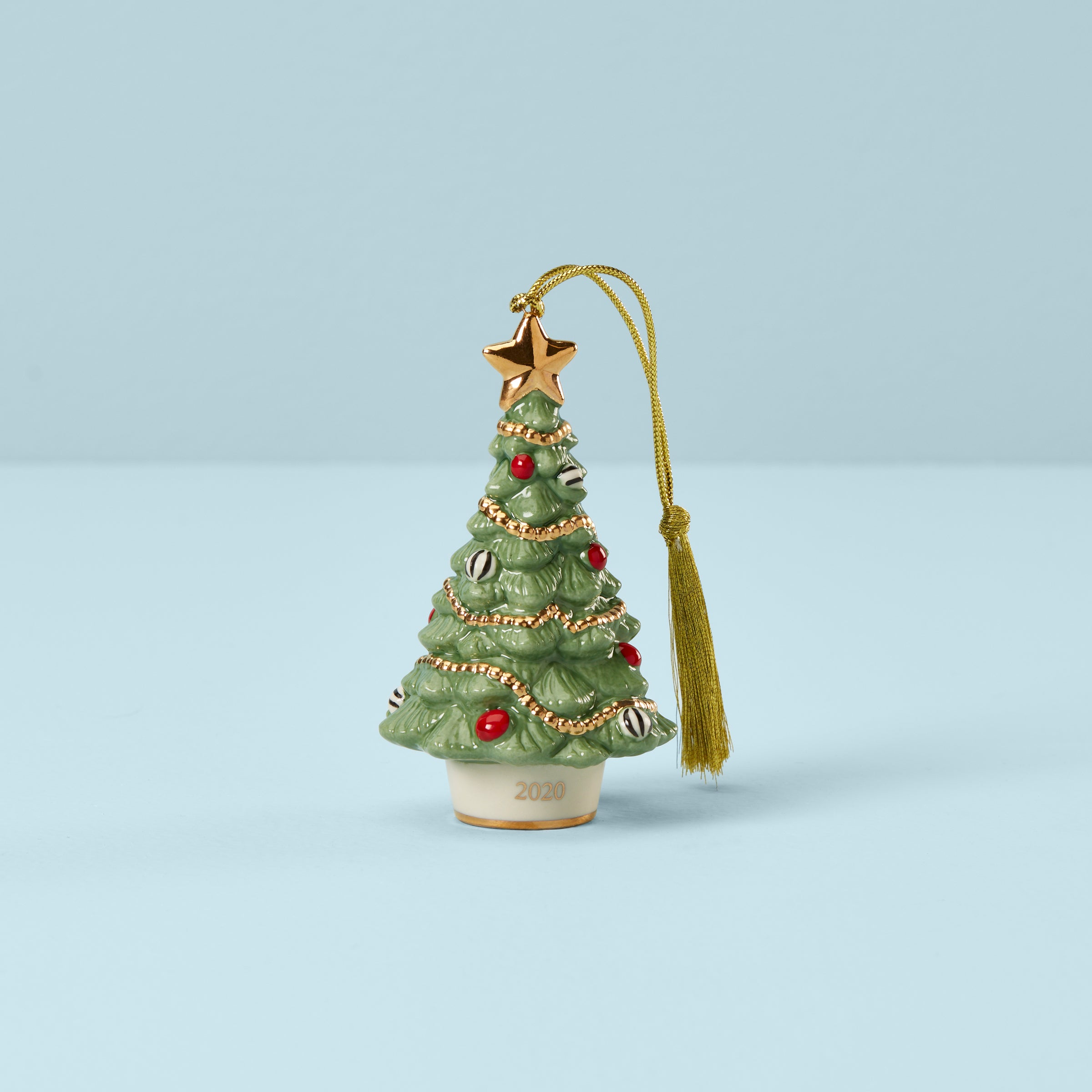 2020 Christmas Bell Ornament 2020 Festive Christmas Tree Ornament – Lenox Corporation