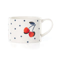 Vintage Cherry Dot Weekend Mug