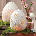 Easter Eyelet Light-Up Egg