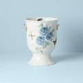 Butterfly Meadow Gold Footed Vase
