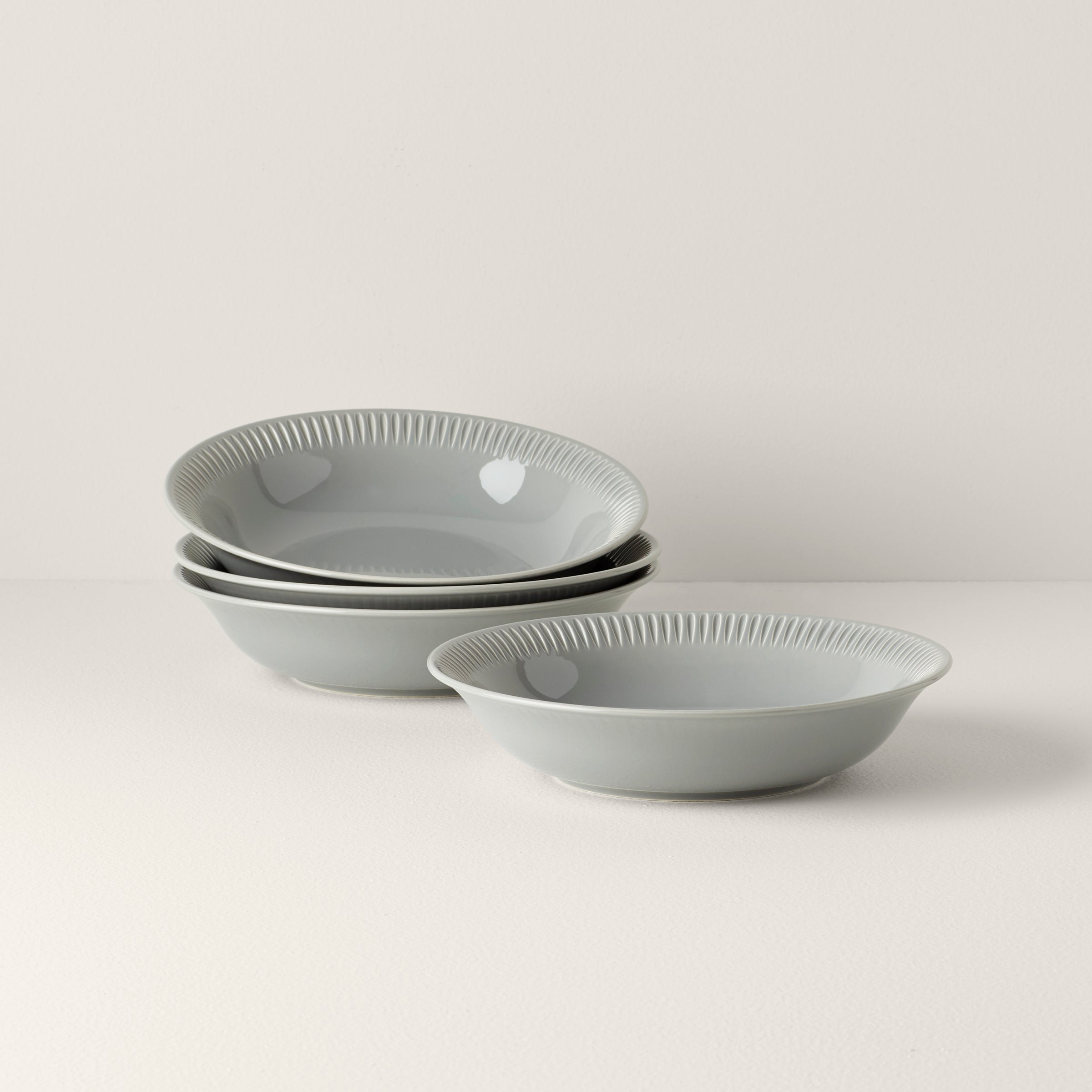 Profile Stoneware 4 Piece Pasta Bowl Set Lenox Corporation