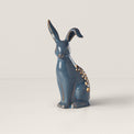 Floral Easter Light-Up Bunny Figurine