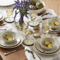 French Perle Scallop 12-Piece Dinnerware Set