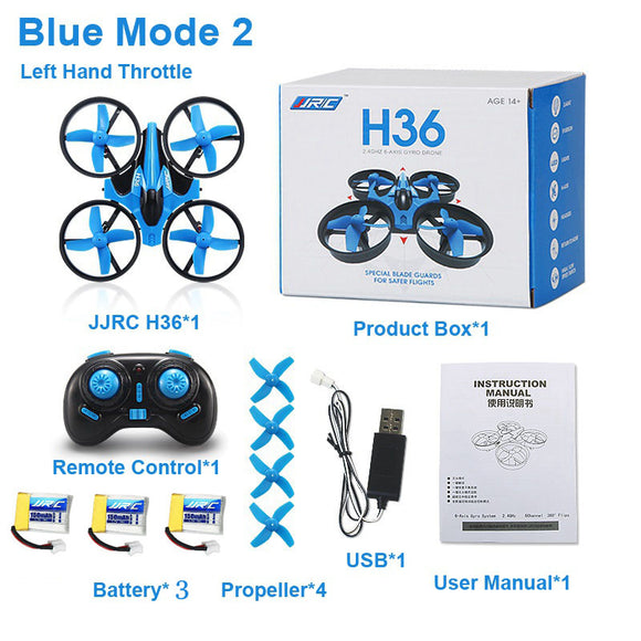 JJRC H36 Mini Quadcopter 3D Flip Headless Mode