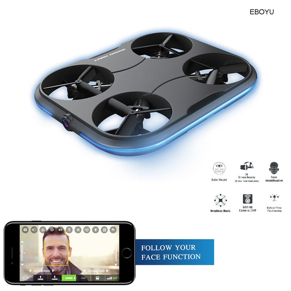 Smart Selfie Drone With Face Recognition