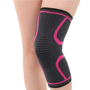 Women's anti slip knee support brace sleeve