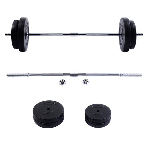 Costway 66 LB Barbell Dumbbell Weight Set