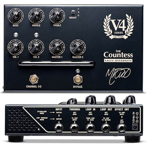 Victory V4 The Countess Pedal Preamp