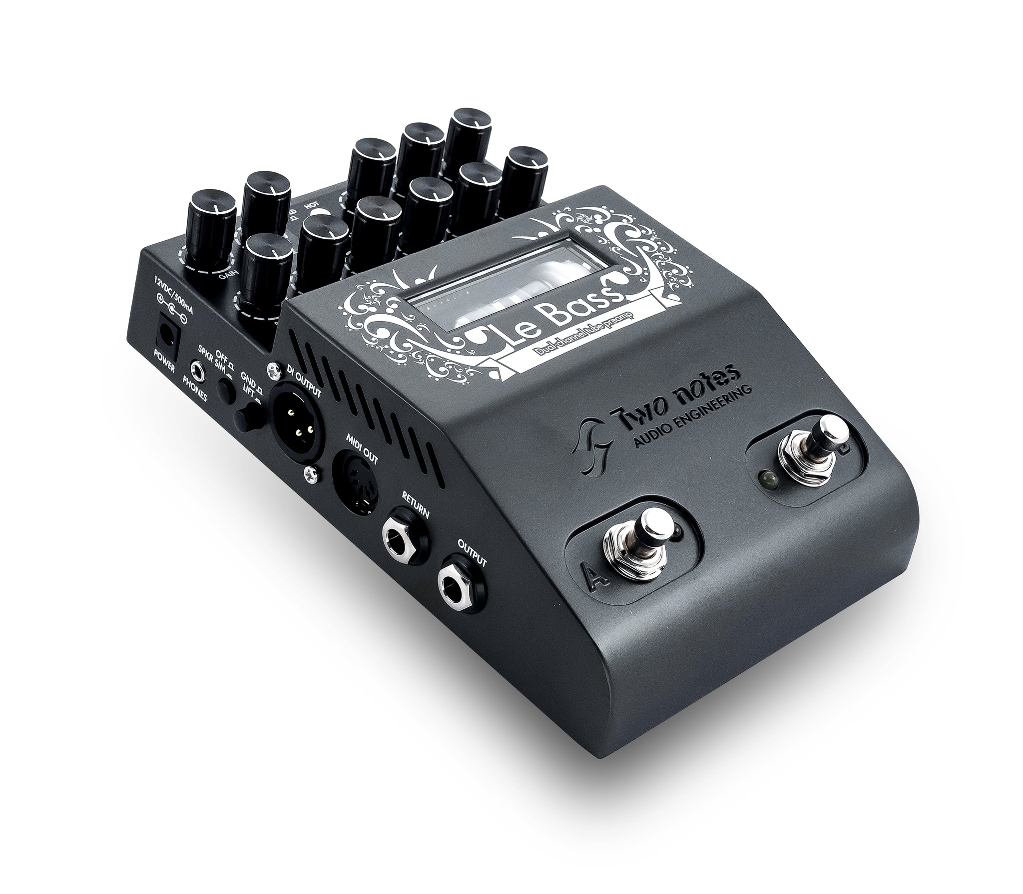 Two Notes Le Bass Preamp Pedal