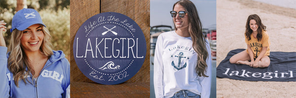 Live Lake Life with Lakegirl Clothing and Accessories