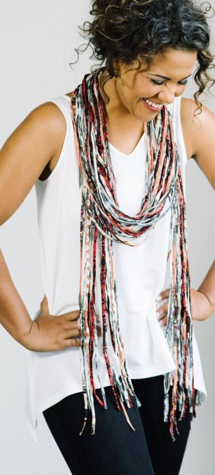 Dona Bela Shreds Scarf