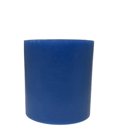 Sweet Violet Bamboo 4 x 4 spiral candle