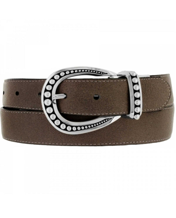 Brighton B40593 Really Tough Belt Black leather belt for women