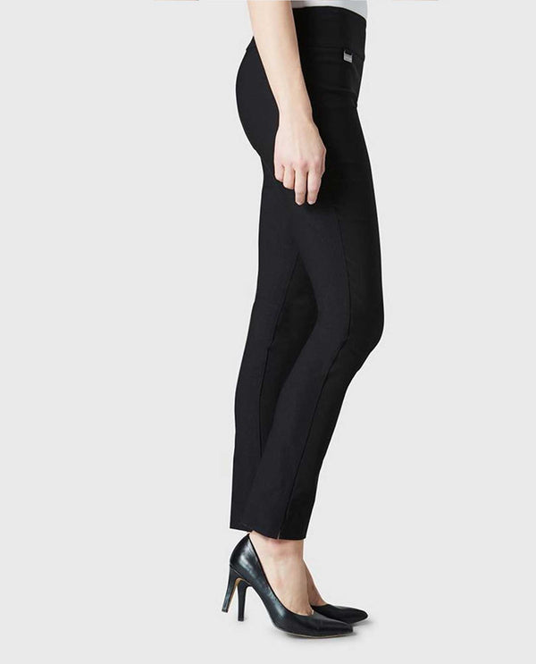 Black Lisette 805 Pull On Pants pull on elastic pants with tummy control