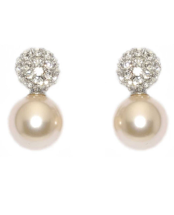 David Tutera 12493 Ivory Sydney Ball Earring