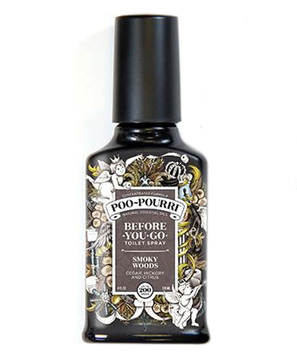Poo-Pourri Smoky Woods 4 Oz