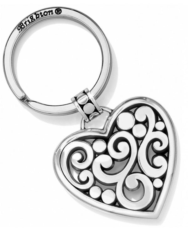 Brighton E15420 Contempo Heart Keyfob