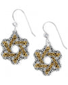 Brighton JE9902 Star Of David French Wire Earrings