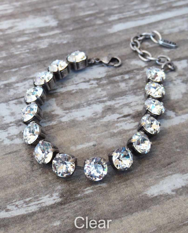 Clear Jess Bracelet By Rachel Marie Designs