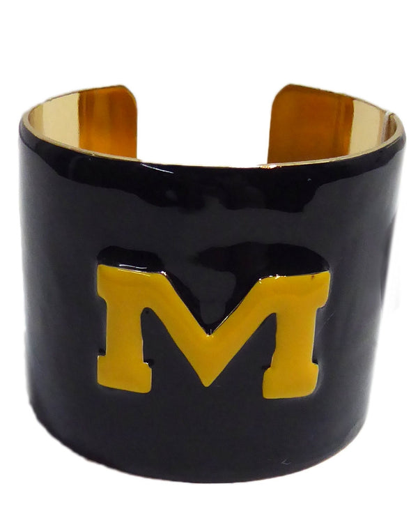 Emerson Street Michigan Enamel Cuff