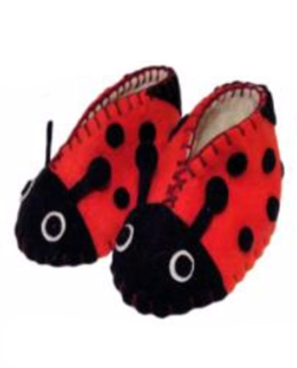 Silk Road Bazaar PN12 Zooties Baby Ladybug Booties