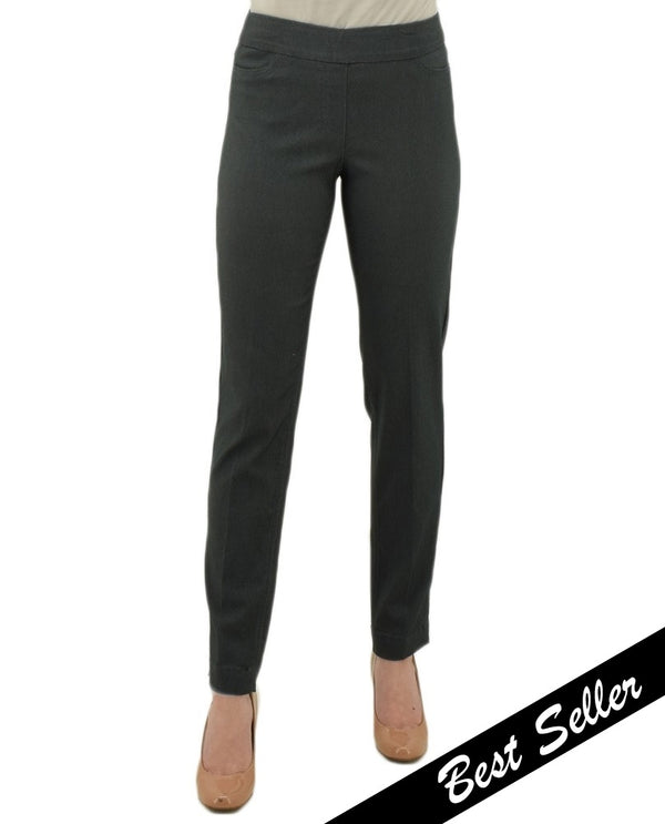 SlimSation M2604 Charcoal Classic Narrow Long Pants
