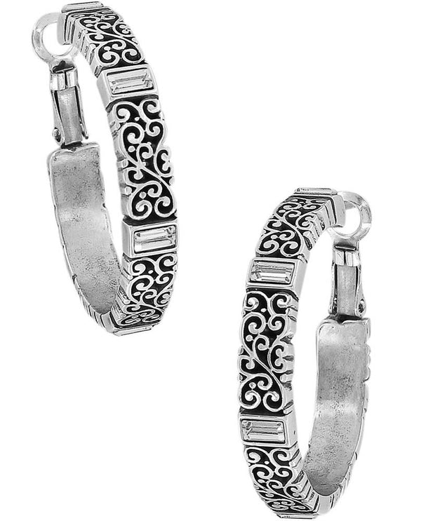 Brighton JA2521 Baroness Leverback Hoop Earrings