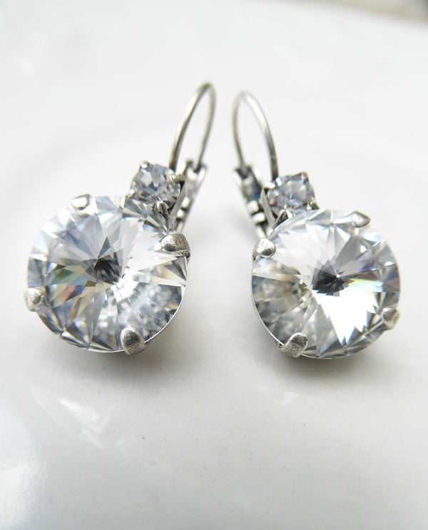 Rachel Marie Designs Brooke Clear Earrings