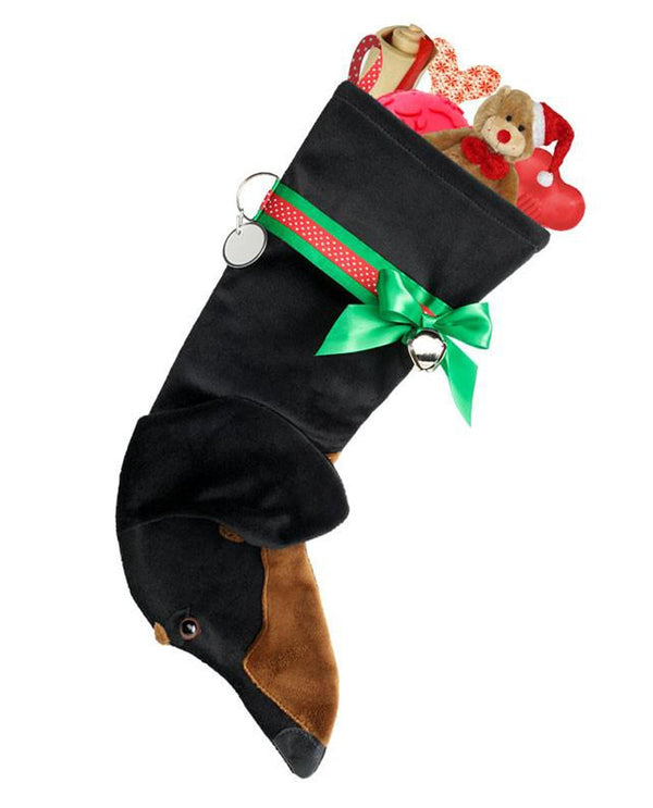 Black And Tan Dachshund Treat Holder