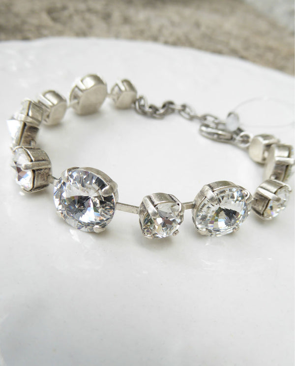 Penny Bracelet Clear By Rachel Marie Designs