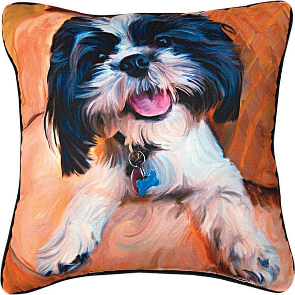 Manual Woodworkers Weavers Shihtzu Baby Pillow Dog Pillows