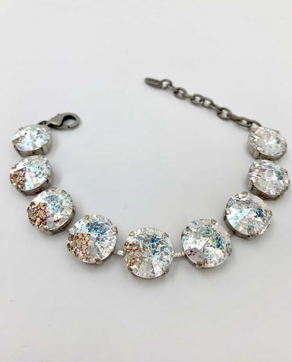 white patina Jordan Bracelet By Rachel Marie Designs