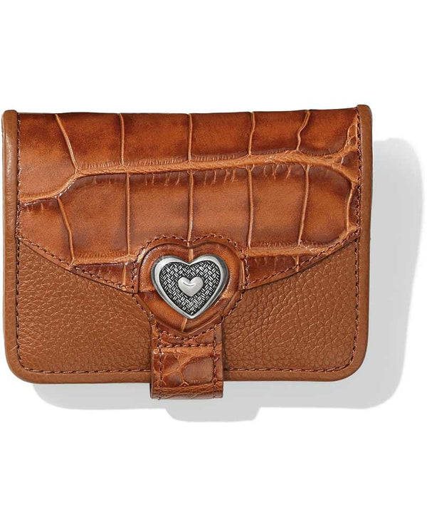 Brighton T10398 Bellissimo Heart Small Wallet