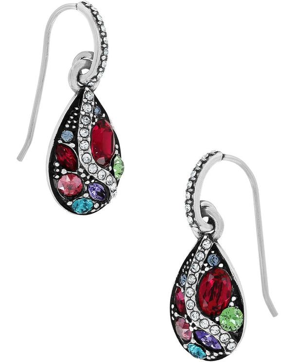 Multi Brighton JA0871 Trust Your Journey French Wire Earrings with colorful Swarovski crystals