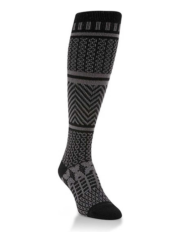 World's Softest Socks WS66624-044 Black Knee High Sock