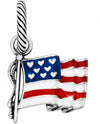 Brighton JC1321 Flag Of Freedom Charm