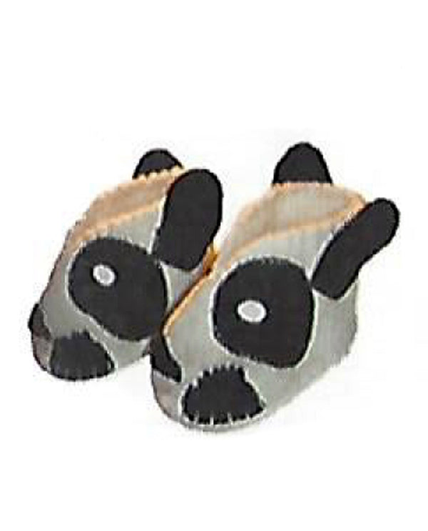 Silk Road Bazaar PN03 Zooties Baby Panda Slippers handmade wool slippers for baby