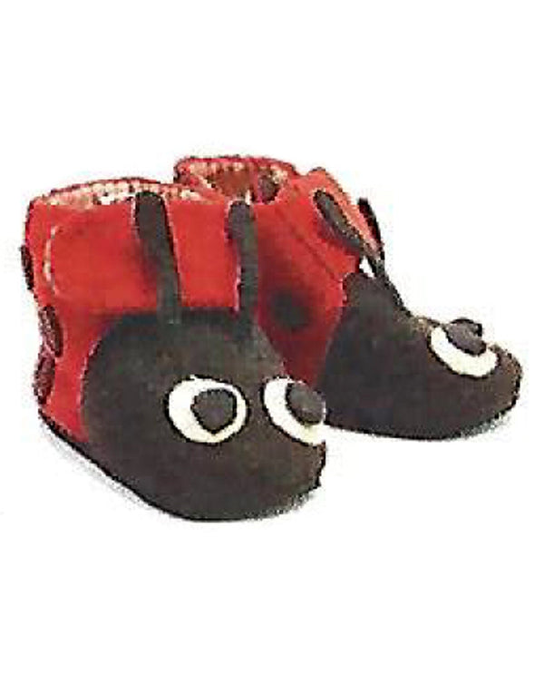 Silk Road Bazaar DS12 Zooties Toddler Lady Bug Slippers