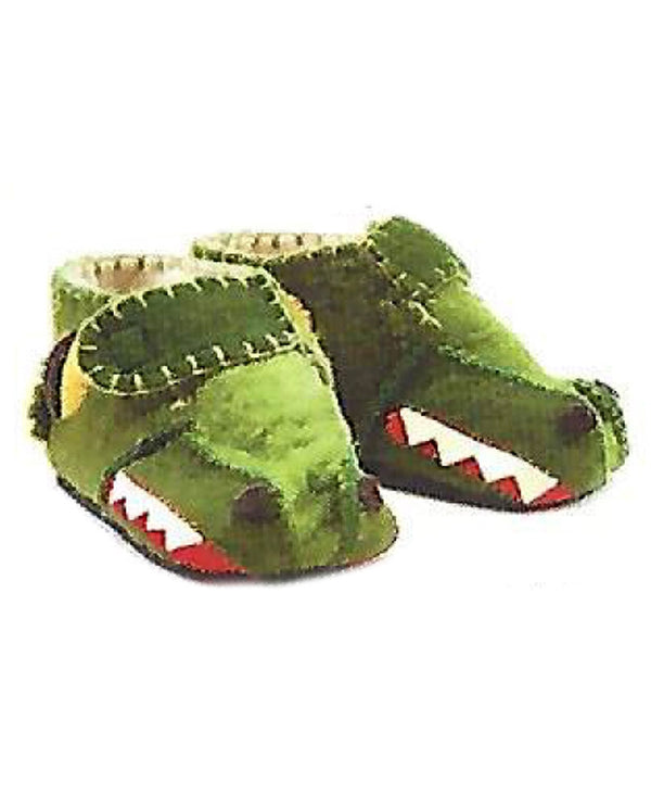 Silk Road Bazaar DS29 Zooties Toddler Gator Slippers