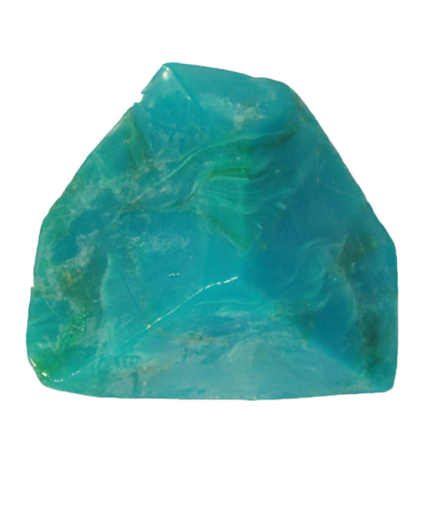 Soap Rocks Chrysocolla Soap 6 oz hand crafted soap made to look like a precious stone